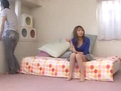 Exotic Japanese chick Kana Narimiya in Best Fingering JAV video