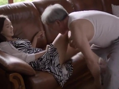 the old nan and cute girl sex scene