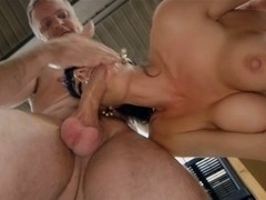 British Lena double penetration at work