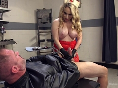 Aiden Starr & D. Arclyte in Chronic Masturbator D. Seeks Sick & Twisted Therapy From Aiden Starr -.