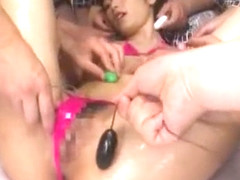 Horny Japanese chick Chika Eiro in Amazing Squirting, Handjobs JAV clip