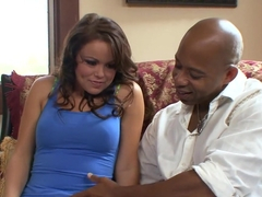 Best pornstar Kaci Star in exotic latina, interracial adult video