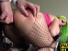Phoenix Madina gets ass fucked by big british cock Pascal