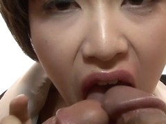 Fabulous Japanese chick Akina Hara in Incredible JAV uncensored Threesomes video