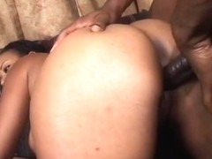 Chubby Slut Cums On A Big Black Dick