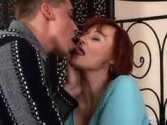 Sexually Excited granny acquires fisted and tit drilled