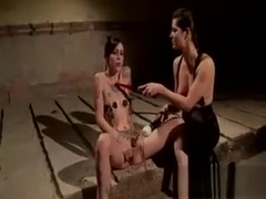 Blonde Babe Gets Pussy Wired And Vibed By Other Blonde Babe