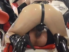 Latex doll assfucked