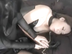 Japanese leather gloves sex