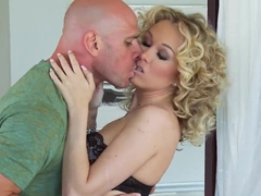 Jeanie Marie Sullivan realizes her dream to fuck her neighbor stripteaser Johnny