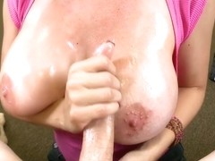 Big tits and a handjob