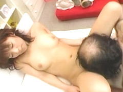 Horny Japanese chick Akane Mochida in Amazing Cunnilingus, Blowjob JAV clip