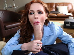 Ella Hughes & Danny D in Pleasuring The New Partner - BrazzersNetwork