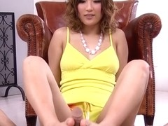 Best Japanese chick Aika in Crazy JAV uncensored Foot Job video