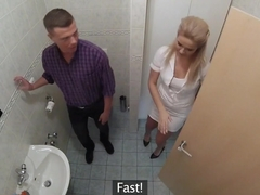 Crazy pornstar in Fabulous Blonde, College adult clip