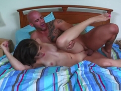 Horny pornstar Tiffany Star in hottest cumshots, brunette xxx video