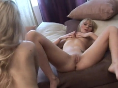 Threesome lesbian with Ann Marie La Sante ,Antonya and Nesty