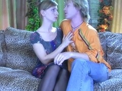 StraponSissies Video: Rosa and Silvester