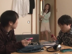 Exotic Japanese girl Ren Serizawa in Horny couple, cunnilingus JAV clip