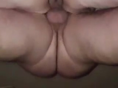 Hot bbw fuck with cum shot