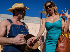 Alexis Fawx & Charles Dera in Plump As A Peach - BrazzersNetwork