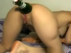 Asshole Extrem  Bottle in Ass Hole