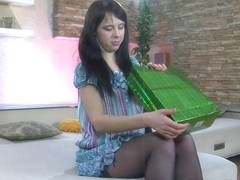LacyNylons Video: Margarita A