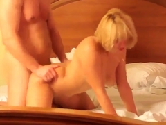 Damn! All Holes of Russian Sexwife Used While Hubby Films!