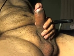 Horny homemade gay movie with Bears, Masturbate scenes