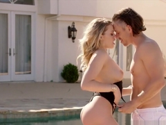 Bubble butt goddess Mia Malkova gets her pretty tushy destroyed by a big cock