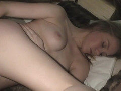 Fresh 18yo Blonde Tasha Doing Her First Ever Video - NebraskaCoeds