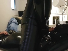 Bound latex gimp gets an interesting surprise