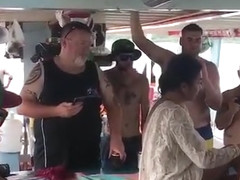 Pattaya party on boat