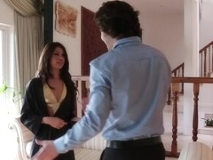 Veronica Rodriguez & Seth Gamble in My Dad Shot Girlfriend