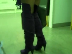 Exotic Amateur clip with Voyeur, Stockings scenes